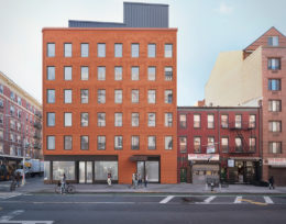 Italian American Museum, rendering courtesy Oved Group