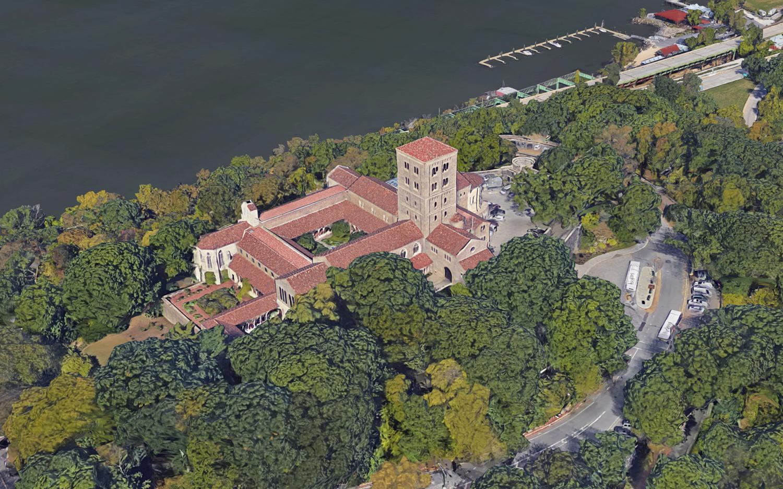 The Cloisters Museum, via Google Maps