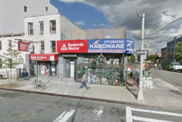 321 Franklin Avenue hardware store, via Google Maps