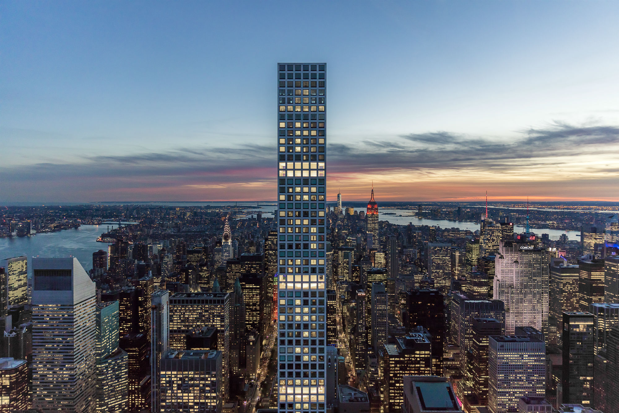 432 Park Avenue, phoot by DBOX for CIM Group:Macklowe Properties