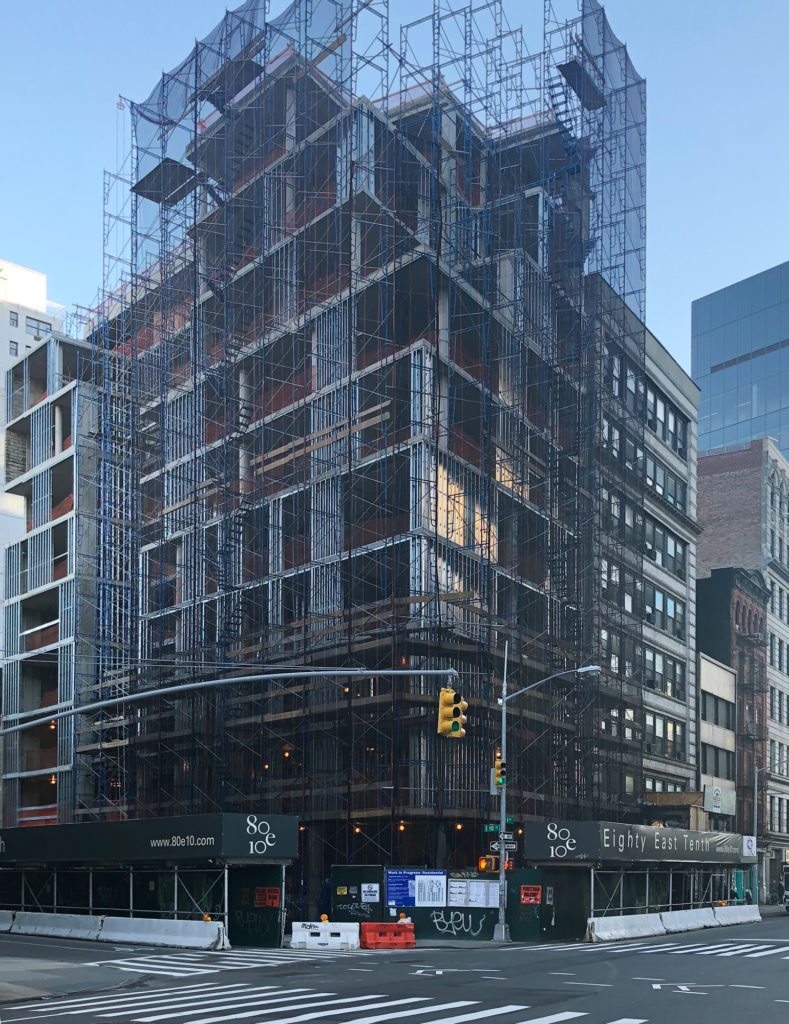 Recent Image of 80 East 10th Street