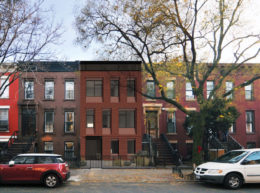 Street view of updated 514 Halsey Street, rendering by Kane Architecture and Urban Design