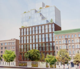 145 Central Park North rendering, image courtesy anonymous tipster