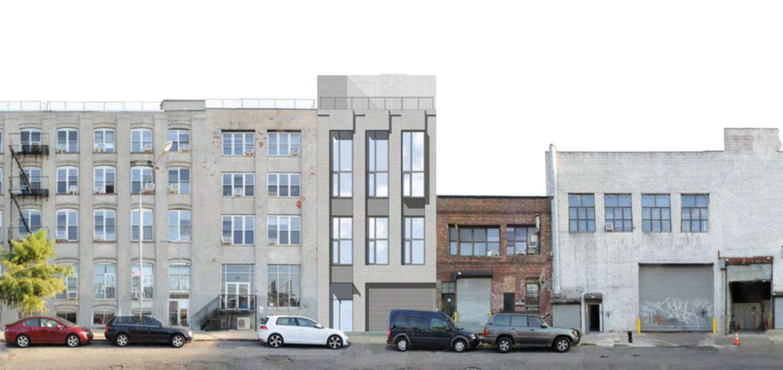 82 John Street in street, rendering by Formactiv