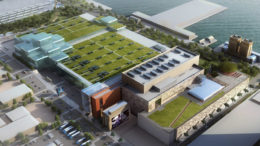 Render showing the completed expansion of the facility, photo credit from Governor Andrew Cuomo's Office