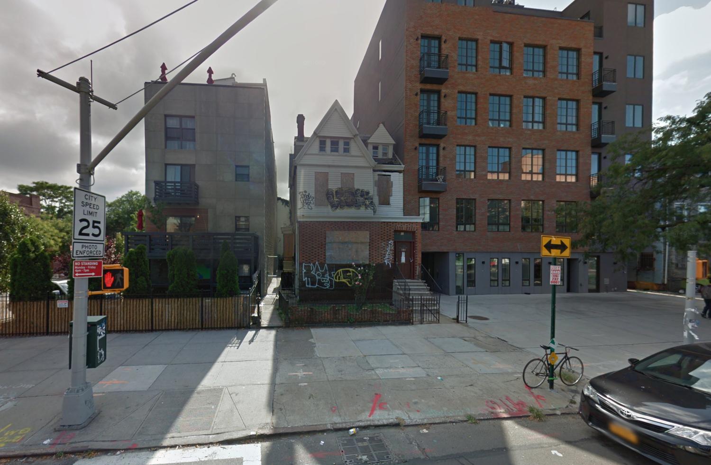 898 Bushwick Avenue, via Google Maps