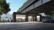 28th Street Entrance to High Line Nine, design by Studio MDA