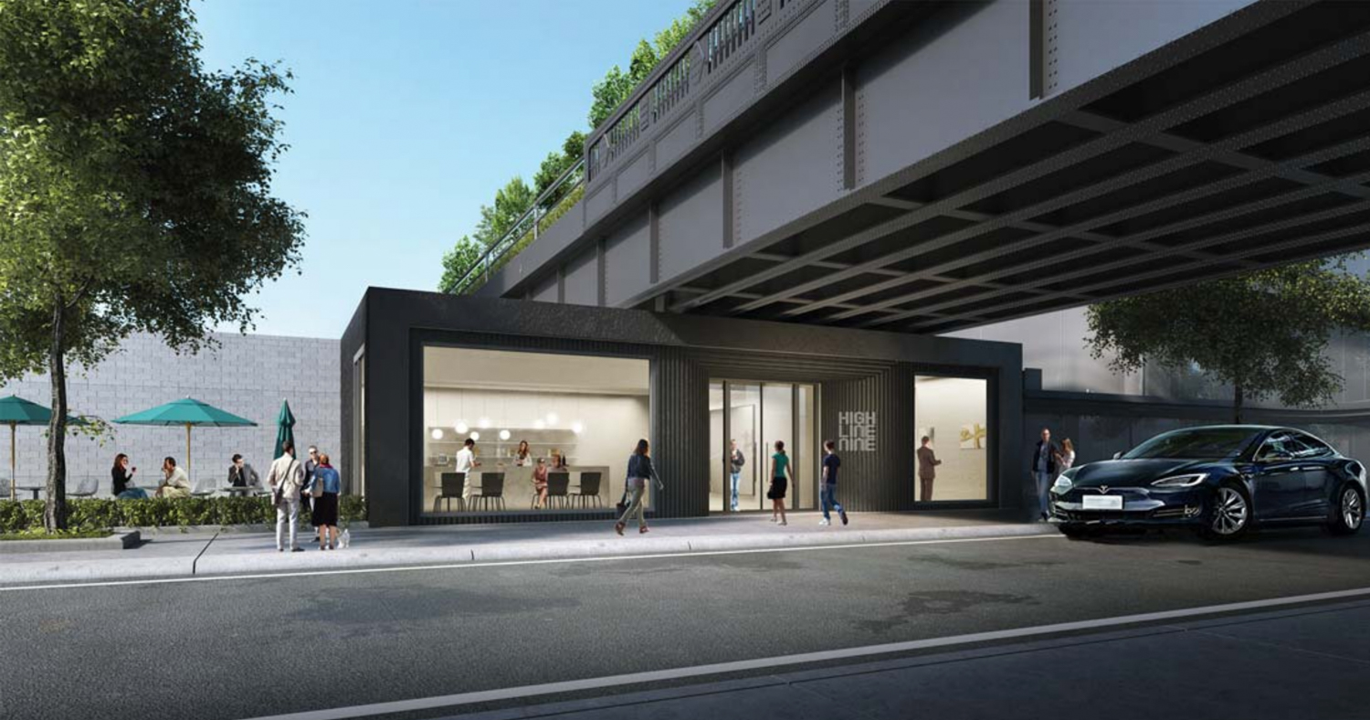 28th Street Entrance to High Line Nine, design by Studio MDA