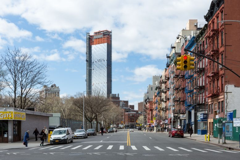 One Manhattan Square, image by Andrew Campbell Nelson