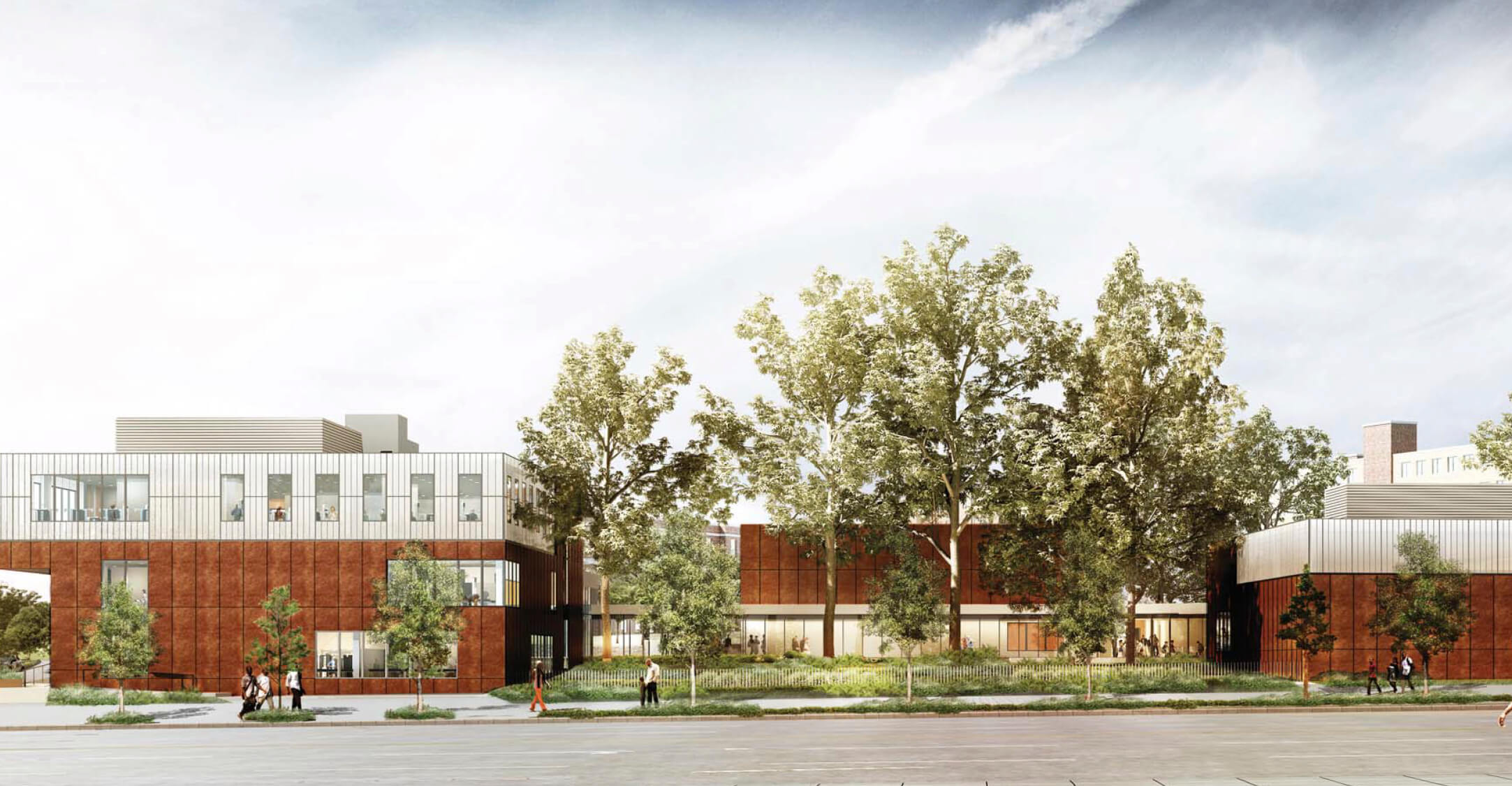 YMCA in Edenwald, rendering by Marvel Architects