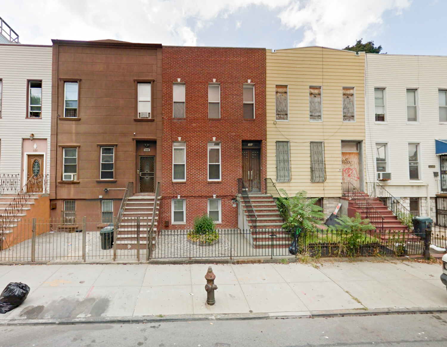 1043 Halsey Street, via Google Maps