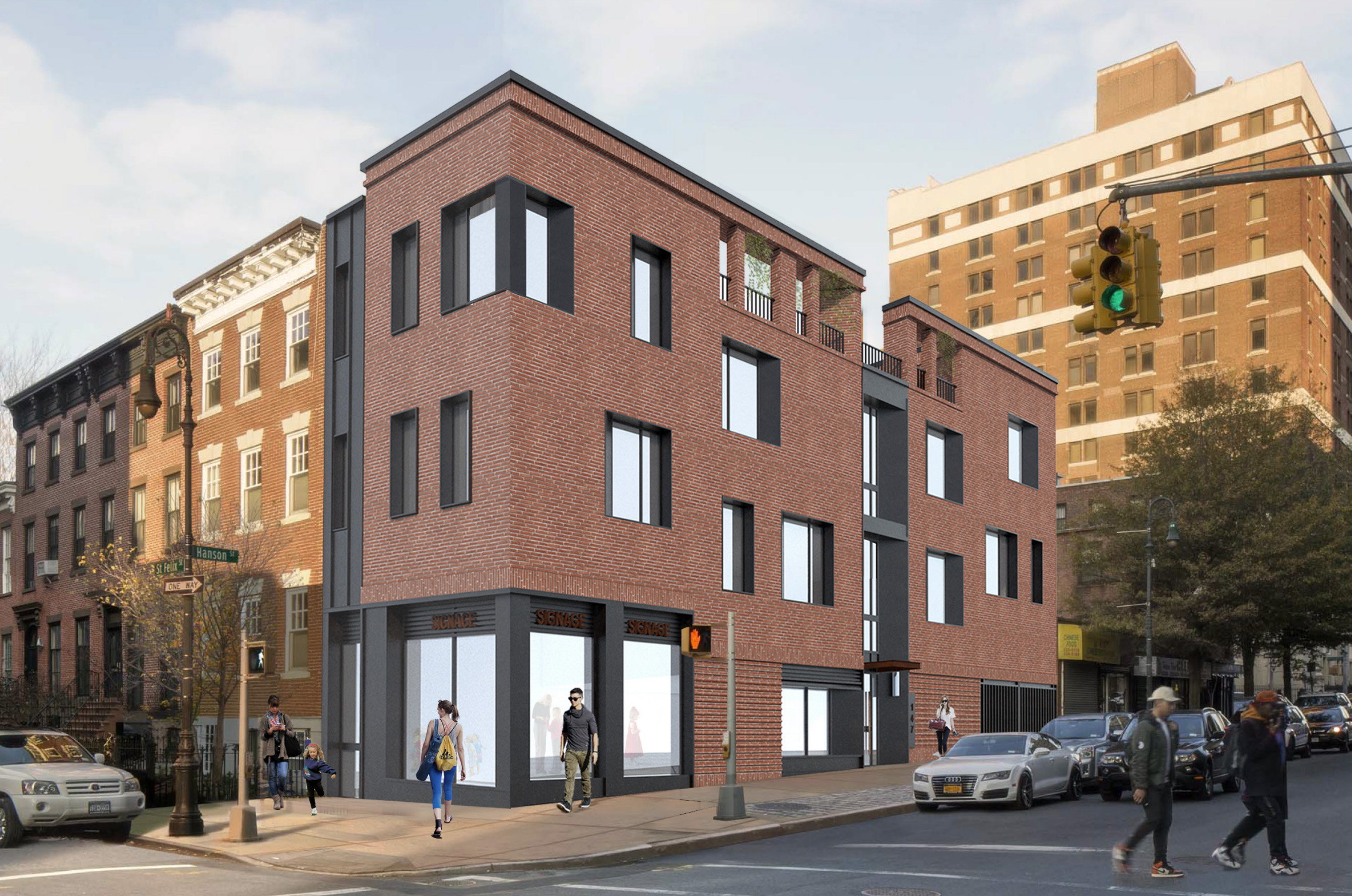 147 Saint Felix Street updated rendering, image via JRA Design Group