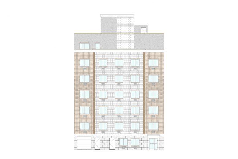 3923 Carpenter Avenue front elevation, courtesy Badaly Architects