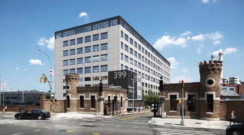 399 Sands Street, rendering by Steiner NYC