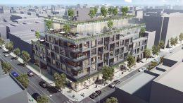 510 Driggs Avenue, rendering by Woods Bagot