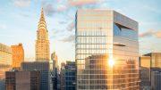 222 East 44th Street hummingbird view, rendering by Binyan Studios