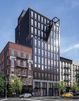 287 East Houston Street, rendering via the teaser website