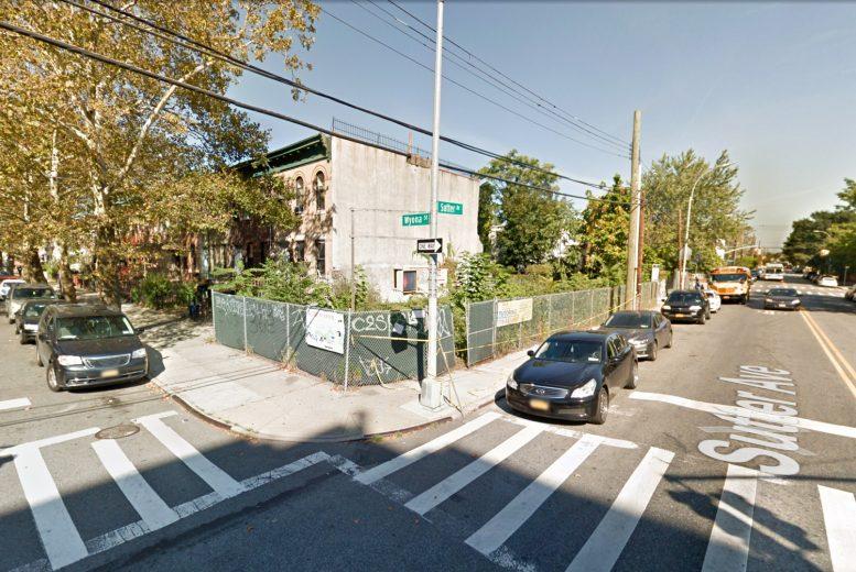 717 Sutter Avenue, via Google Maps