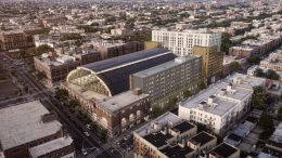 Bedford Union Armory Redevelopment, rendering by JM Zoning
