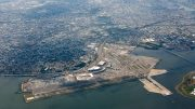 LaGuardia from the sky, taken July 12th, image by Andrew Campbell Nelson