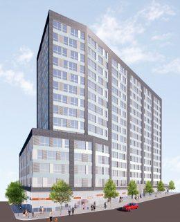 1331 Jerome Avenue, rendering courtesy GF55 Partners