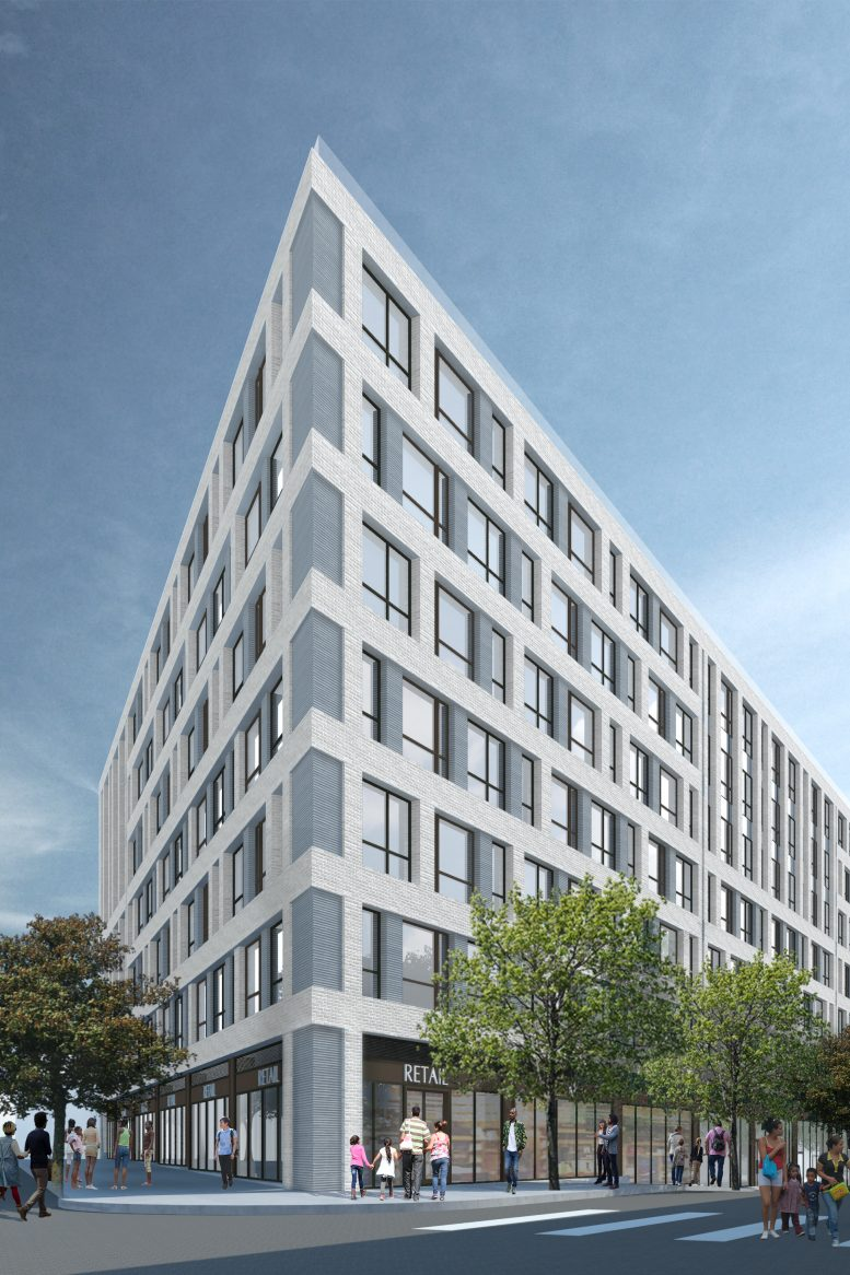 980 Westchester Avenue, rendering courtesy GF55 Parnters