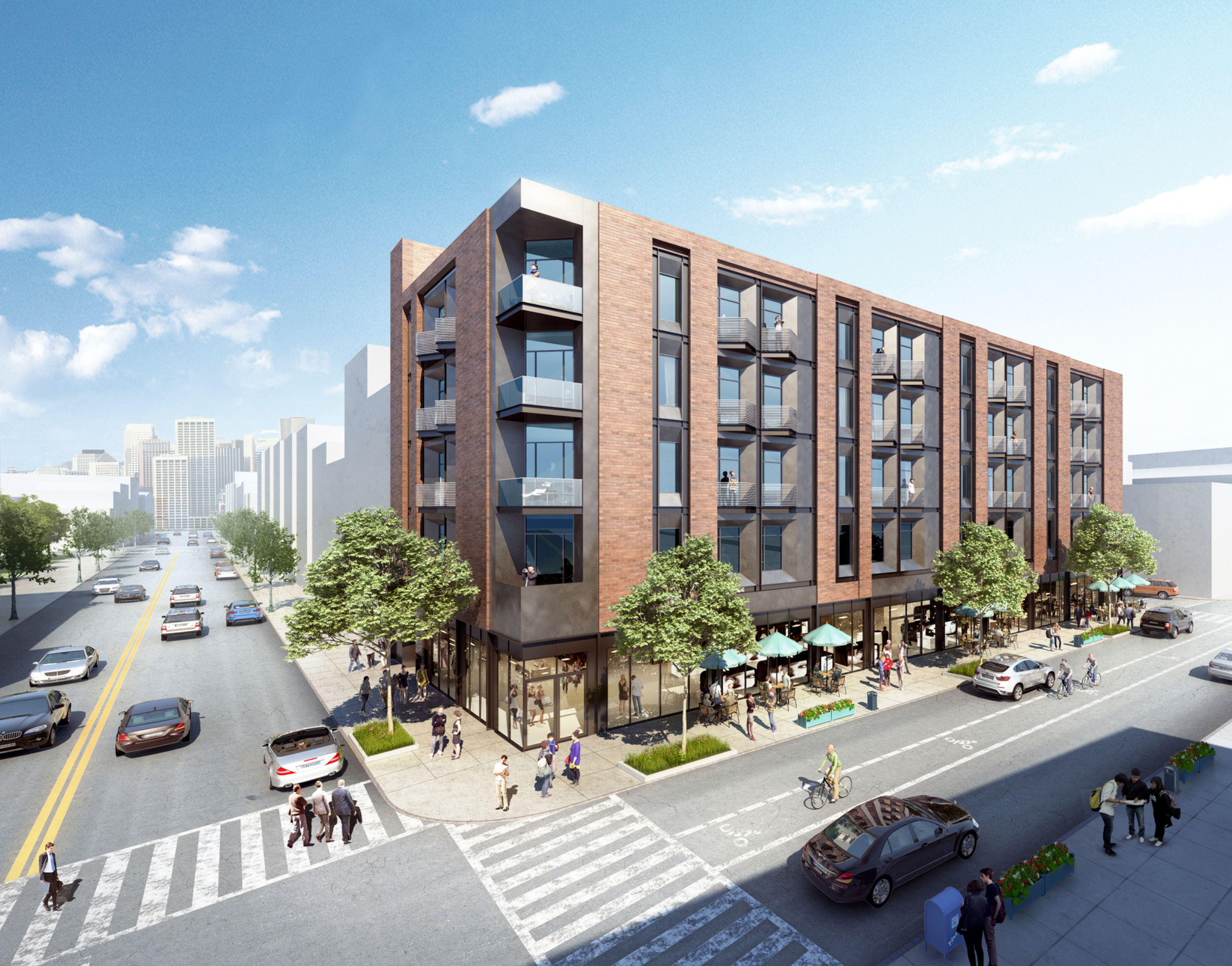 228 Berry Street, rendering by IMC Architecture