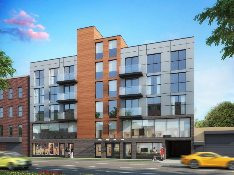 43-20 52nd Street, rendering by Angelo NG & Anthony NG Architects