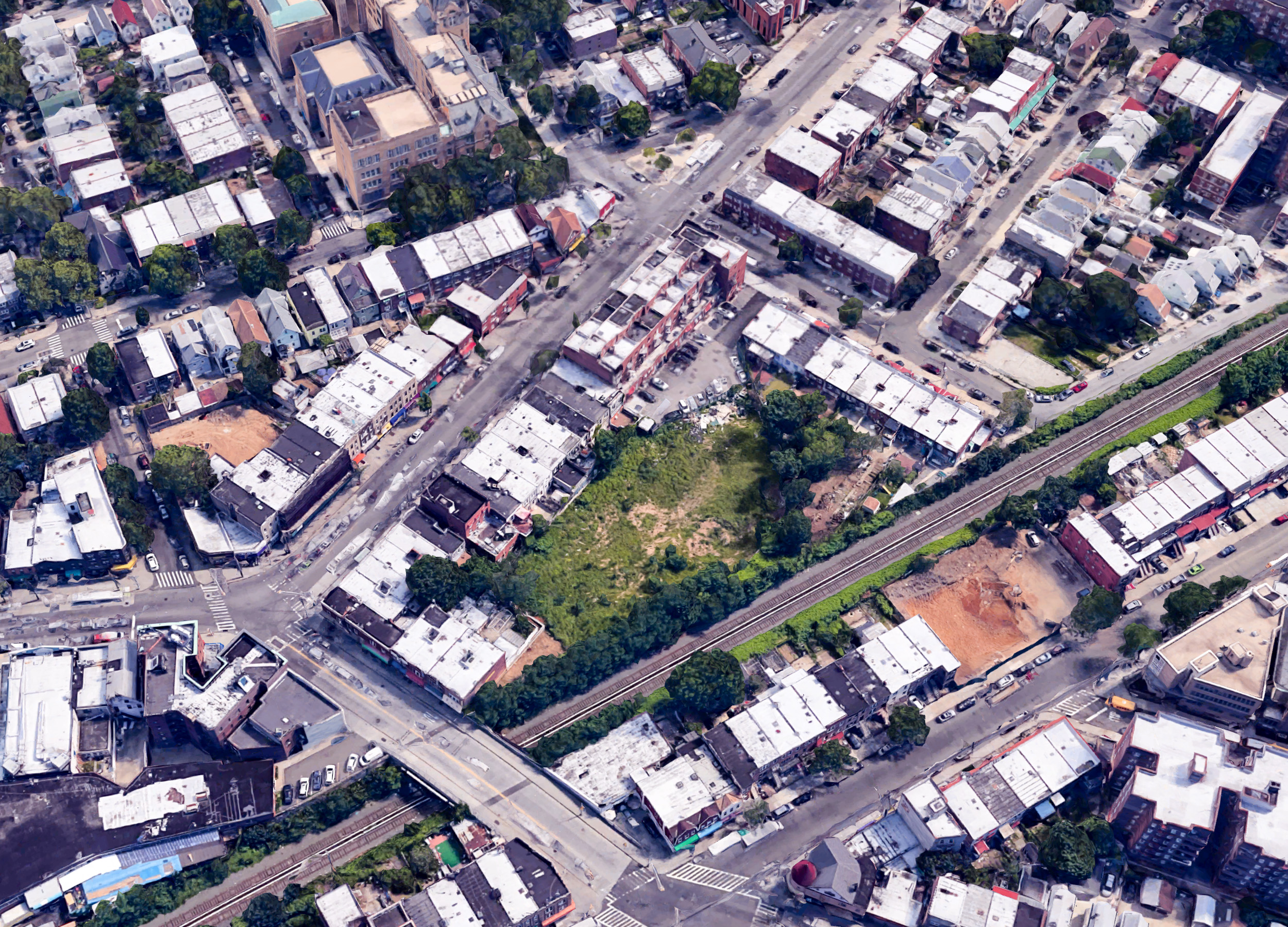 47-11 90th Street size, via Google Satellite