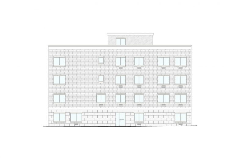 529 East 187th Street, Elevation by Badaly Architects