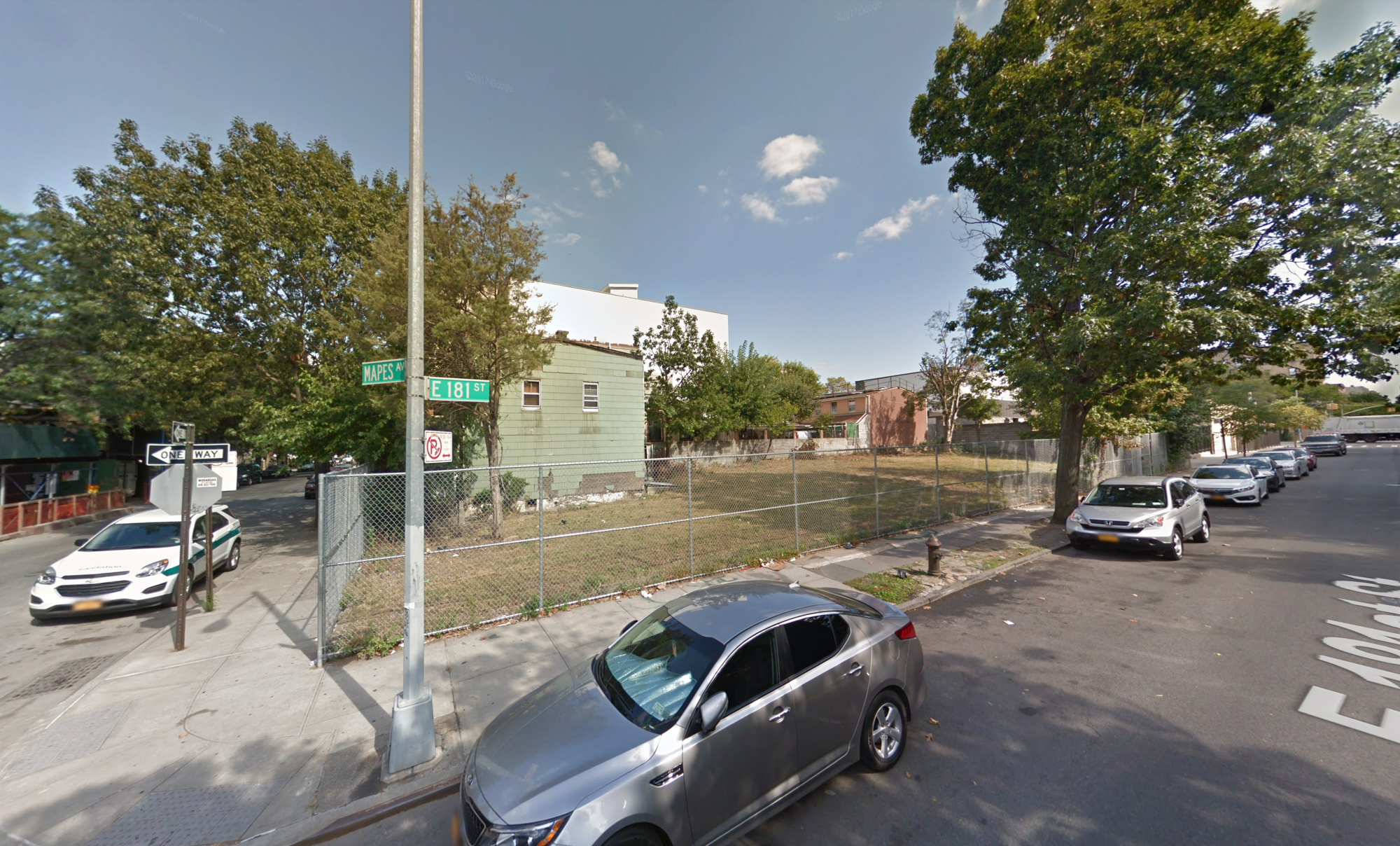 811 East 181st Street, via Google Maps
