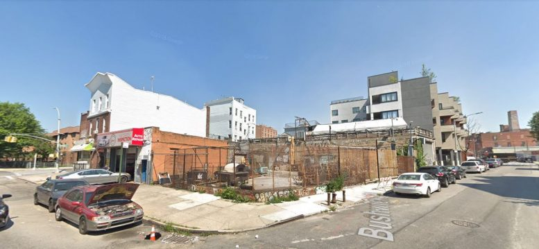 Permits Filed For Four Story Building At 217 Boerum Street