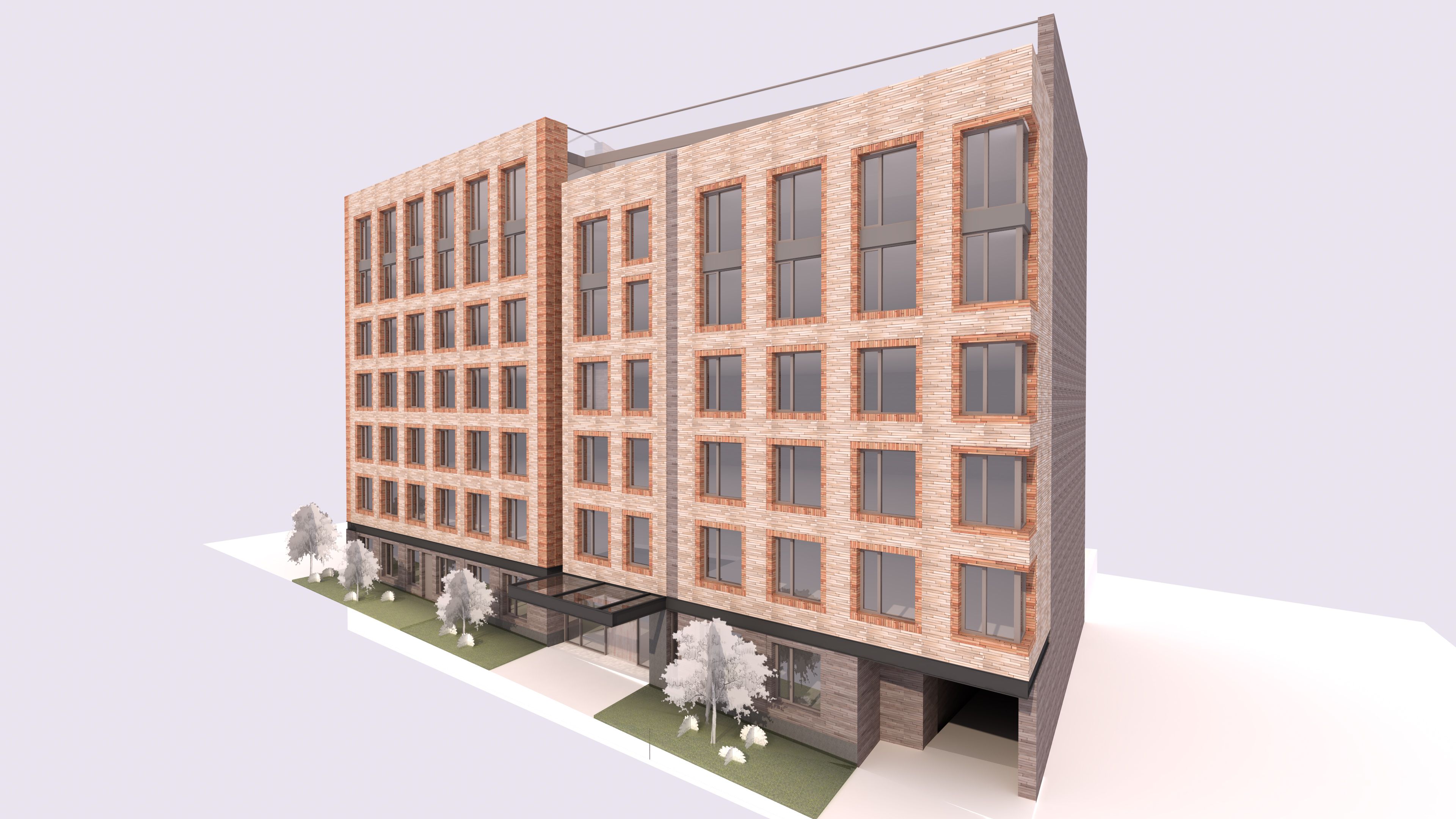 3128 Henry Hudson Parkway, rendering courtesy T&R Construction Corporation