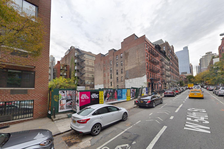 443 West 54th Street, via Google Maps