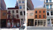 53 Mercer Avenue rendering, before and after, rendering by DXA Studio