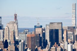 One Vanderbilt as seen from One Manhattan Square, image by Andrew Campbell Nelson