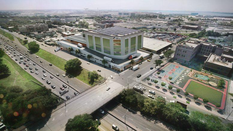 Terminal Logistics Center, design by Craft Architects