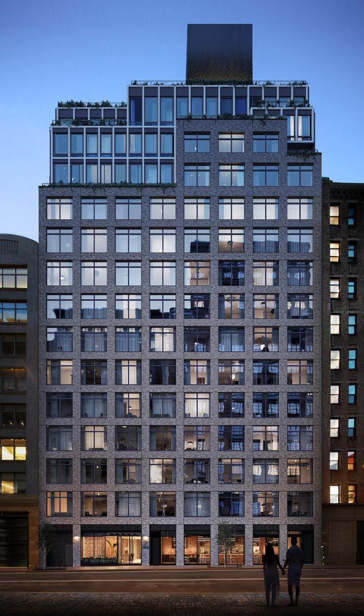 Rendering of 77 Charlton Street - Toll Brothers City Living