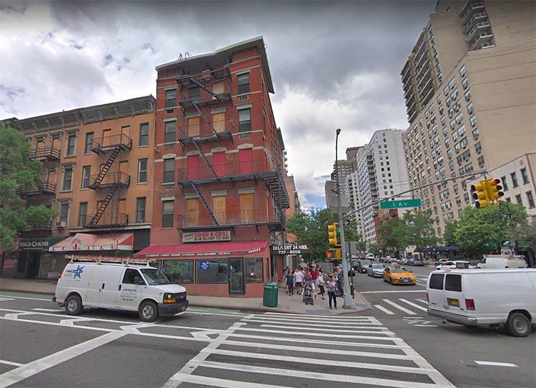 1651 1st Avenue in Yorkville, Manhattan