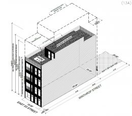 Rendering of 110 East 53rd Street in East Flatbush, Brooklyn