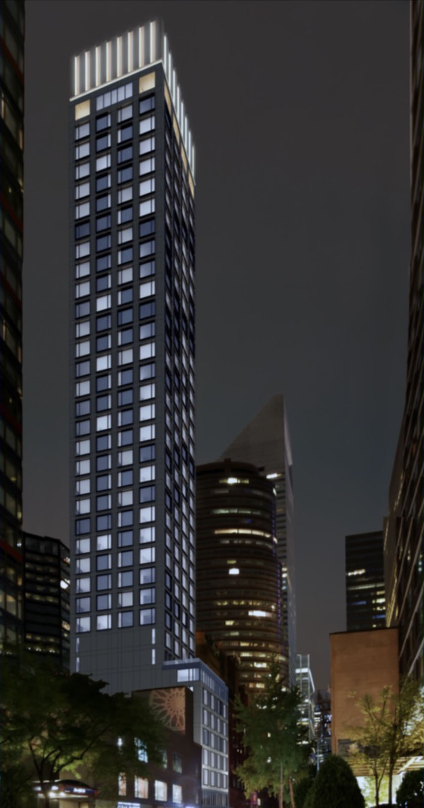 Rendering of 232 East 54th Street - Ismael Leyva Architects
