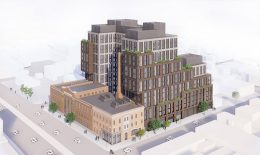 Rendering of 2840 Atlantic Avenue - Dattner Architects