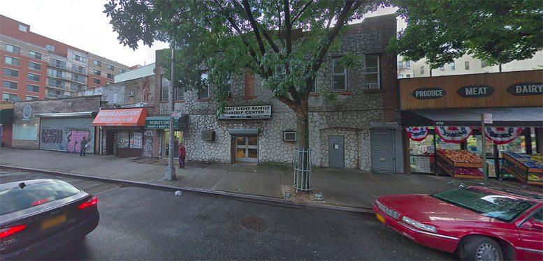 488 Marcus Garvey Boulevard in Stuyvesant Heights, Brooklyn