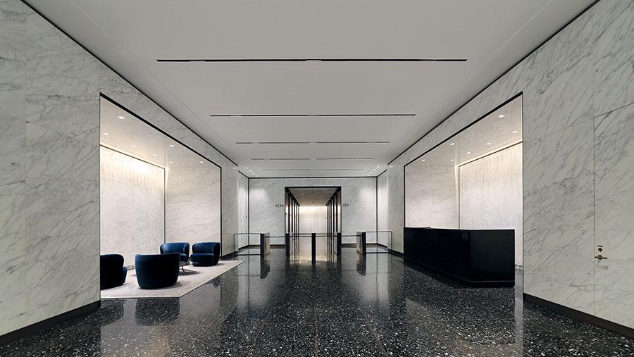 55 Broad Street Lobby - Rudin Management Company