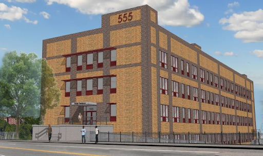 Rendering of 555 Nereid Avenue - MHG Architects