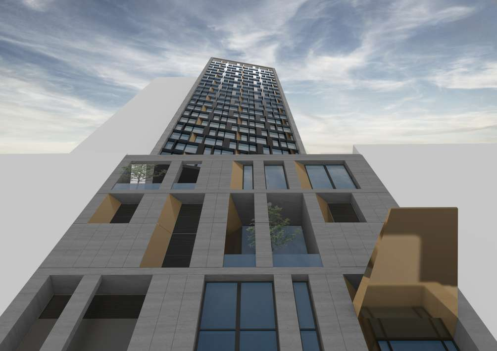 Rendering of AC NoMad Hotel at 842 Sixth Avenue - Danny Foster & Architecture