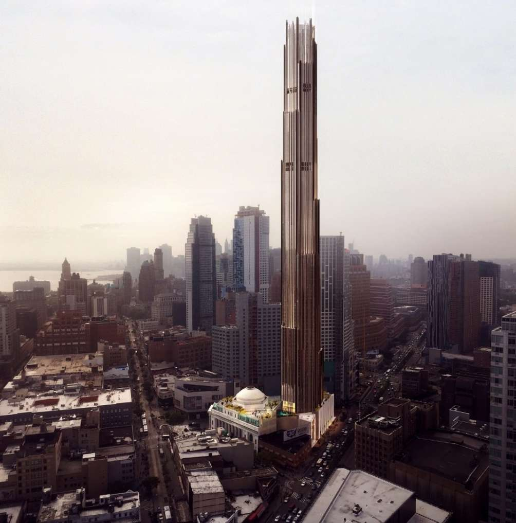 Funding Secured For Brooklyn S First Supertall At 9