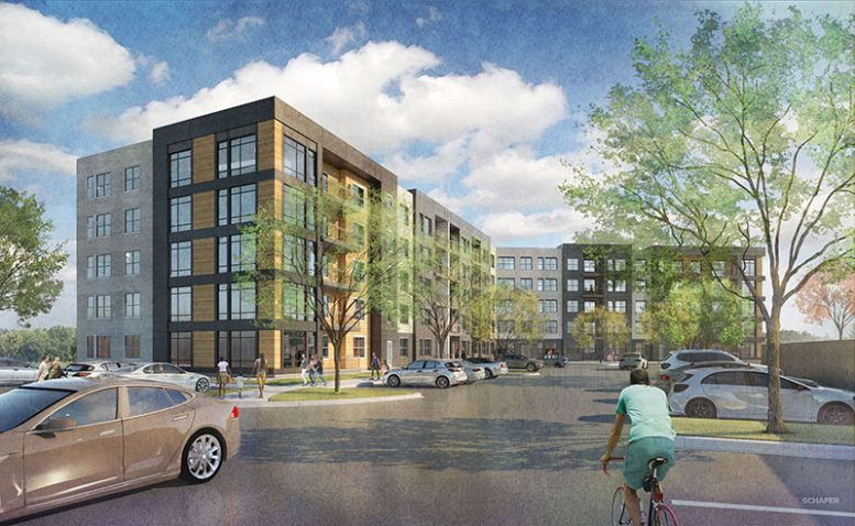 Rendering of 1133 Westchester Avenue - NRP Group and the RPW Group