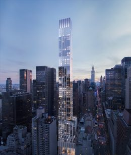 Rendering of The Centrale at 138 East 50th Street - The Seventh Art