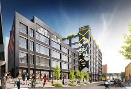Rendering of Union Crossing - Woods Bagot Architecture